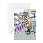 Food Free Food Aisle Greeting Cards (Pk of 10)