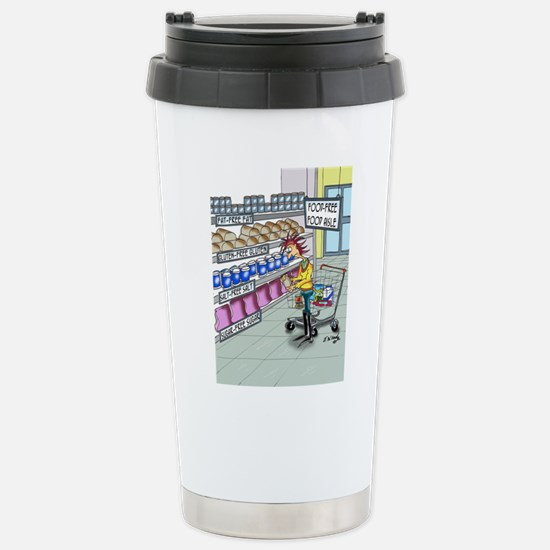 Food Free Food Aisle Stainless Steel Travel Mug