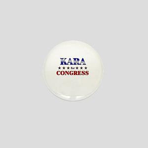 KARA for congress Mini Button