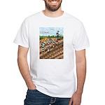 A Food Chain Gang White T-Shirt