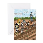 A Food Chain Gang Greeting Cards (Pk of 20)