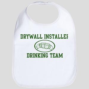 Drywall Installer Drinking Te Bib
