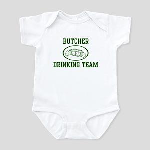 Butcher Drinking Team Infant Bodysuit