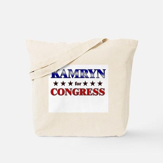 KAMRYN for congress Tote Bag