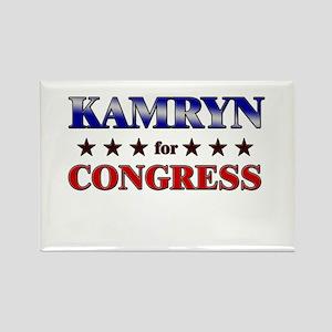 KAMRYN for congress Rectangle Magnet