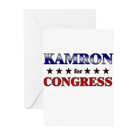 KAMRON for congress Greeting Cards (Pk of 10)