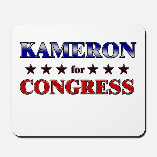 KAMERON for congress Mousepad