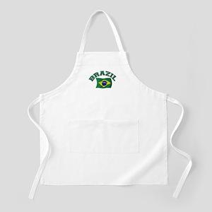 Brazil Flag BBQ Apron