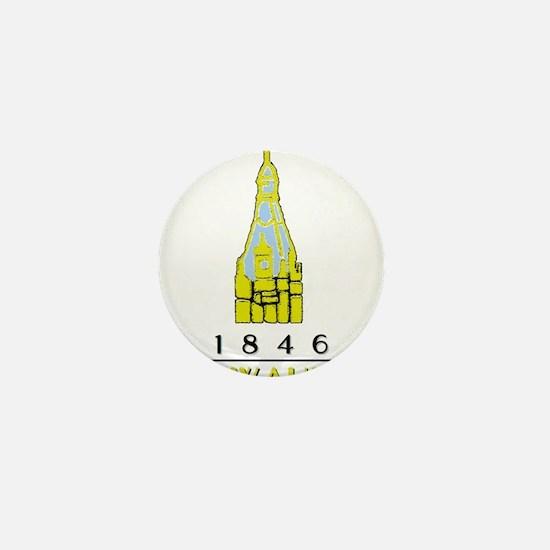 Milwaukee City Hall Logo- white Mini Button