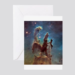 HUBBLE TELESCOPE IMAGE Greeting Cards (Package of