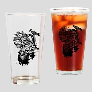 Steampunk Goblin with Bird Drinking Glass