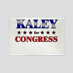 KALEY for congress Rectangle Magnet