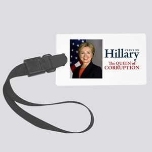 HILLARY THE QUEEN Large Luggage Tag