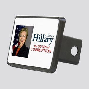 HILLARY THE QUEEN Rectangular Hitch Cover