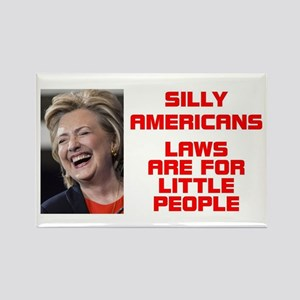 HILLARY LITTLE PEOPLE Rectangle Magnet