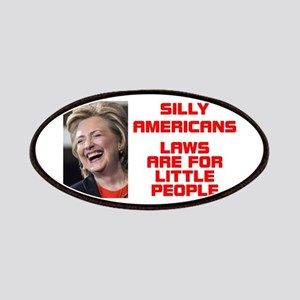 HILLARY LITTLE PEOPLE Patch