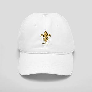 NOLA Girl Fleur de lis (gold) Cap