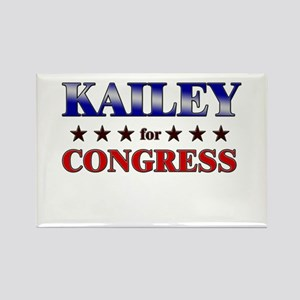 KAILEY for congress Rectangle Magnet