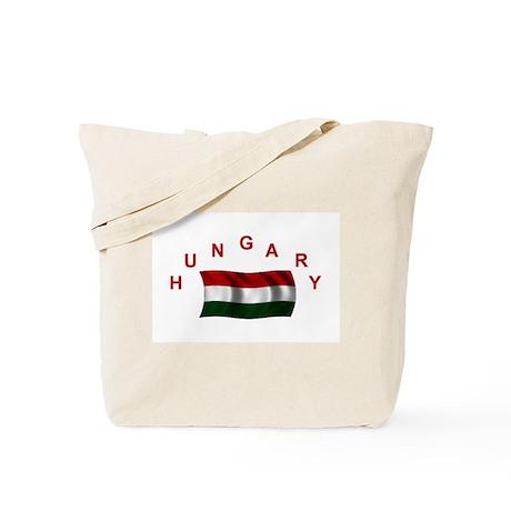 Hungarian Flag Tote Bag