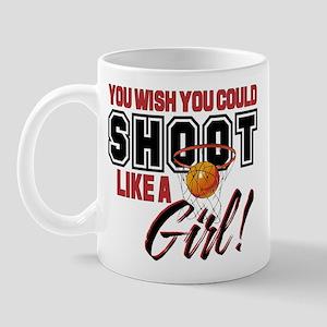 Basketball - Shoot Like a Girl Mug