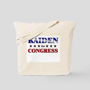 KAIDEN for congress Tote Bag