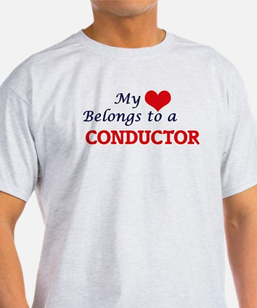 My heart belongs to a Conductor T-Shirt
