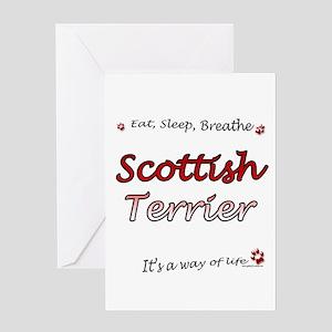 Scotty Breathe Greeting Card
