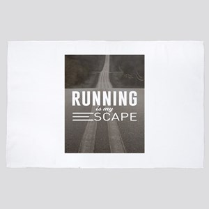 Running Is My Escape 4' x 6' Rug