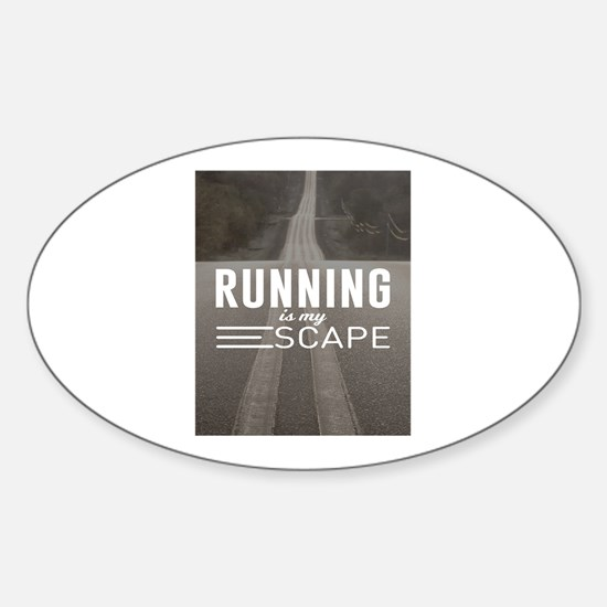 Running Is My Escape Decal