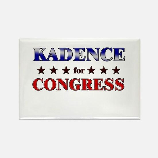 KADENCE for congress Rectangle Magnet