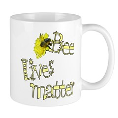Bee Lives Matter Mug Mugs