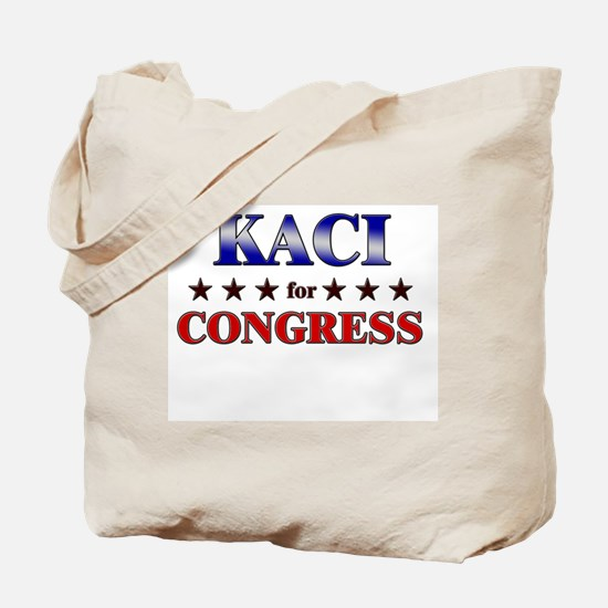 KACI for congress Tote Bag