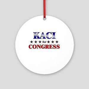 KACI for congress Ornament (Round)