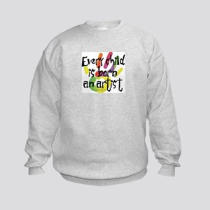Every Child is an Artist Kids Sweatshirt