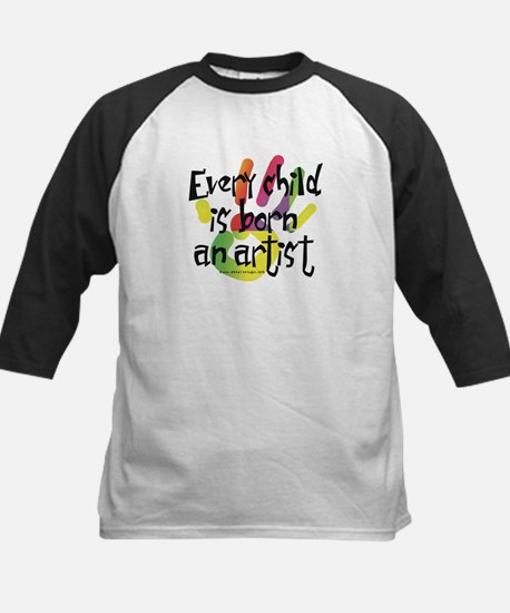 Every Child is an Artist Kids Baseball Jersey