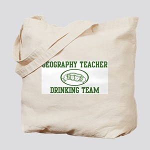 Geography Teacher Drinking Te Tote Bag