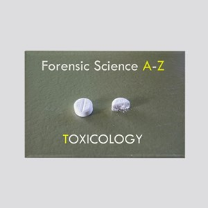 Forensic Toxicology Rectangle Magnet