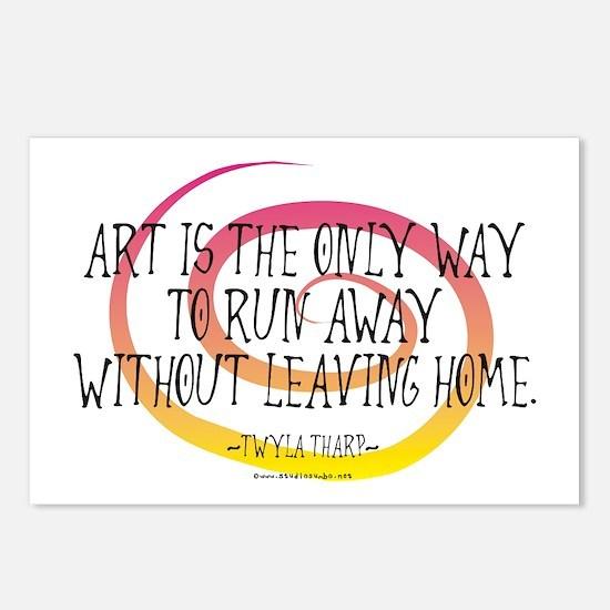 Runaway Artist II Postcards (Package of 8)
