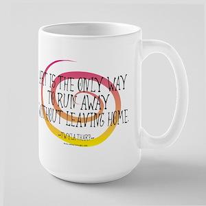 Runaway Artist II Large Mug