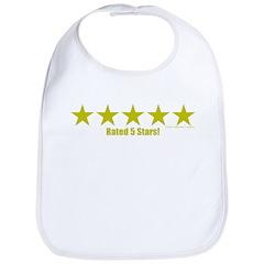 Rated 5 Stars Bib