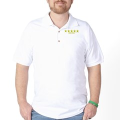 Rated 5 Stars Golf Shirt