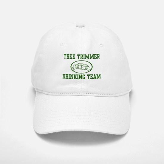 Tree Trimmer Drinking Team Baseball Baseball Cap