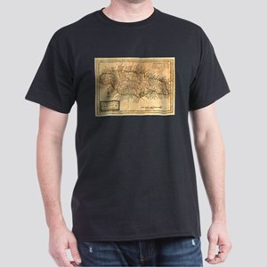 Vintage Map of Jamaica (1771) T-Shirt