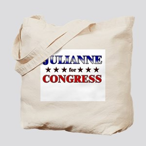 JULIANNE for congress Tote Bag