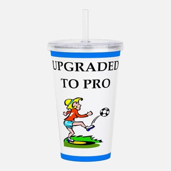 soccer Acrylic Double-wall Tumbler