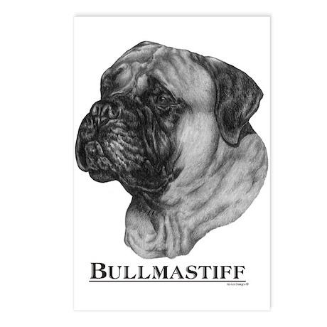 Bullmastiff Dog Breed Postcards (Package of 8)