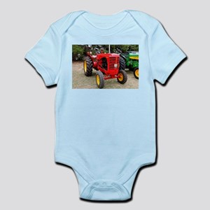 Old red tractor Body Suit