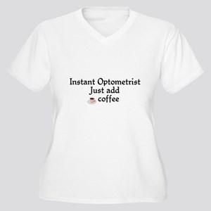 Optometrist Women's Plus Size V-Neck T-Shirt