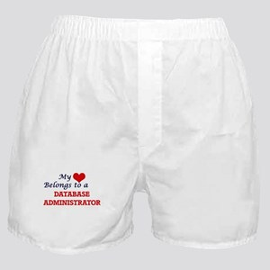 My heart belongs to a Database Admini Boxer Shorts