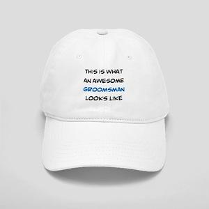 awesome groomsman Cap